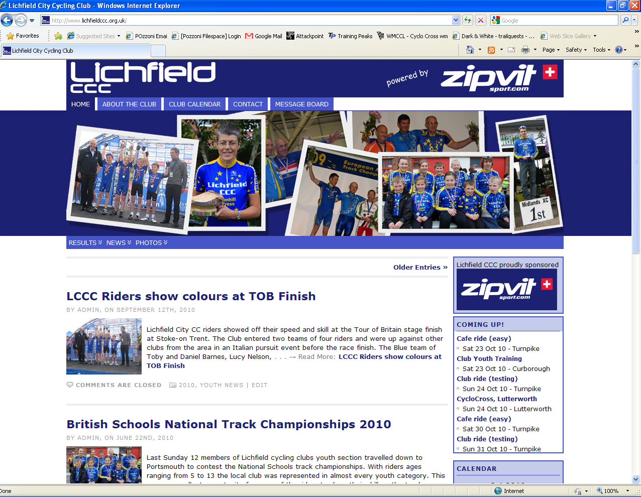 Lichfield City Cycling Club – Stodge-Blog
